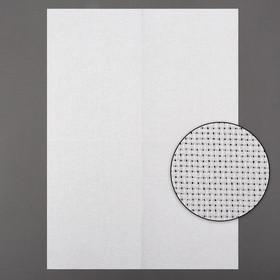 Канва для вышивания, № 14, 30 × 40 см, цвет белый