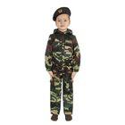 """Карнавальный костюм """"Спецназ"""", куртка с капюшоном, брюки, берет, рост 98 см"""