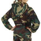 Карнавальный костюм «Спецназ», куртка с капюшоном, брюки, берет, рост 104 см - фото 106540168
