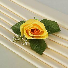 Бутоньерка «Роза», жёлтая Ош
