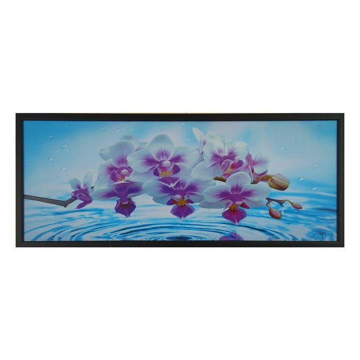 """Картина """"Цветы на воде"""""""