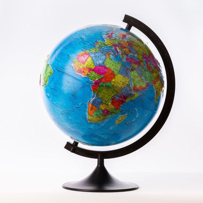Глобус политический рельефный «Классик», диаметр 320 мм