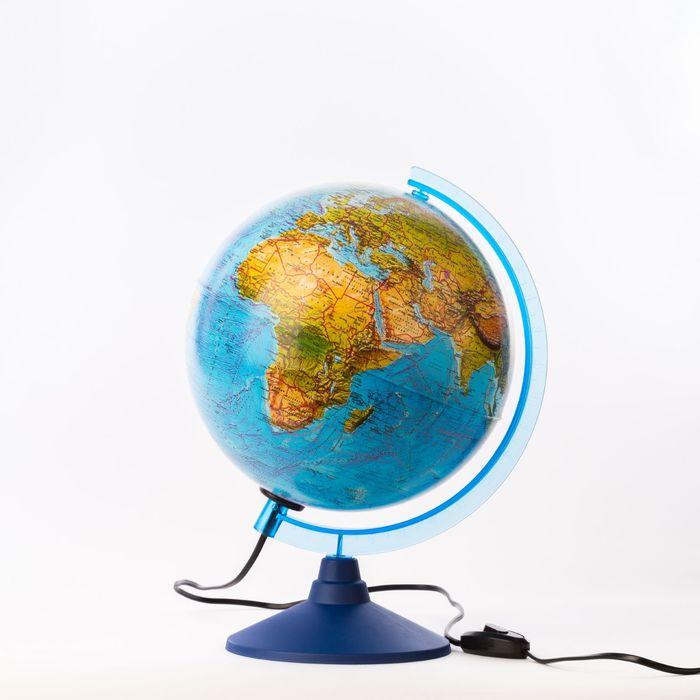 Глобус ландшафтный «Классик Евро», диаметр 250 мм, с подсветкой
