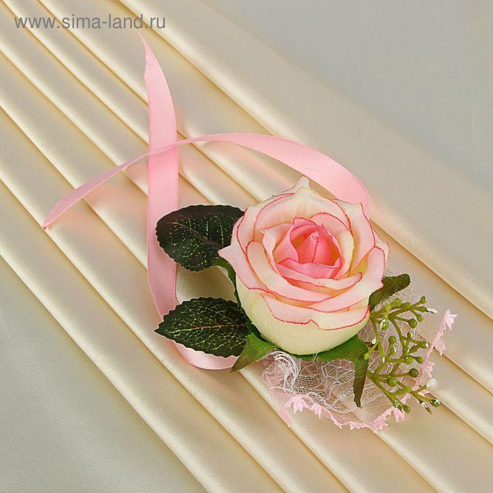 Повязка на руку № 7 розовая