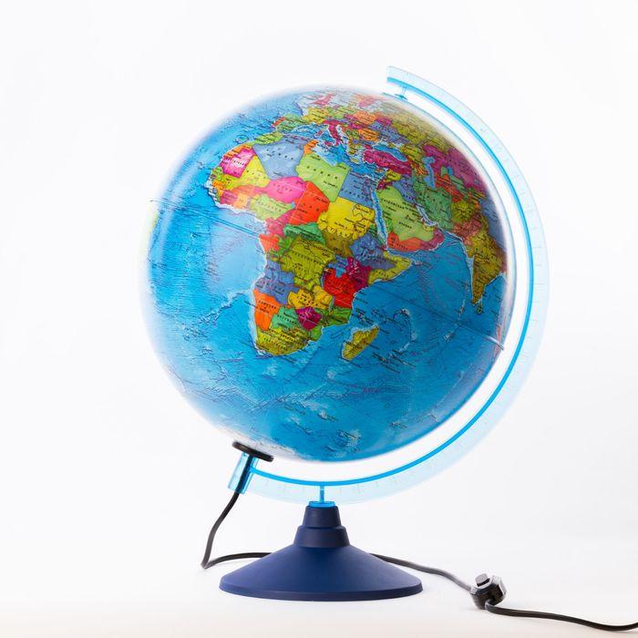 Глобус политический «Классик Евро», диаметр 320 мм, с подсветкой