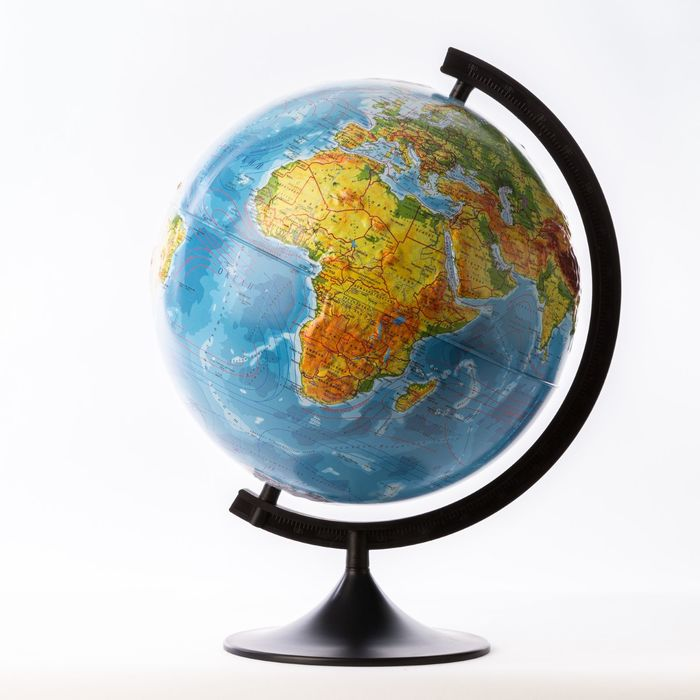 Глобус физический рельефный «Классик», диаметр 320 мм