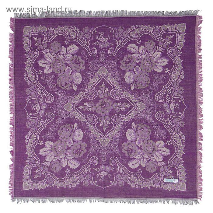 Платок текстильный жаккардовый, 80*80 см, цвет 4 # K 342