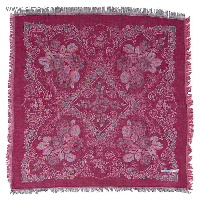 Платок текстильный жаккардовый, 80*80 см, цвет 6 # K 342