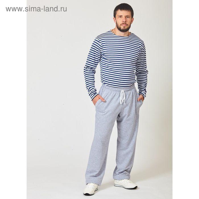 Брюки мужские 03М015 серый меланж. р-р 50 футер