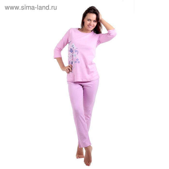 Пижама женская LP06-010K розовый, р-р 54