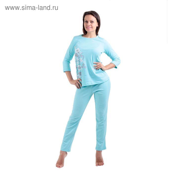 Пижама женская LP06-010K бирюзовый. р-р 54