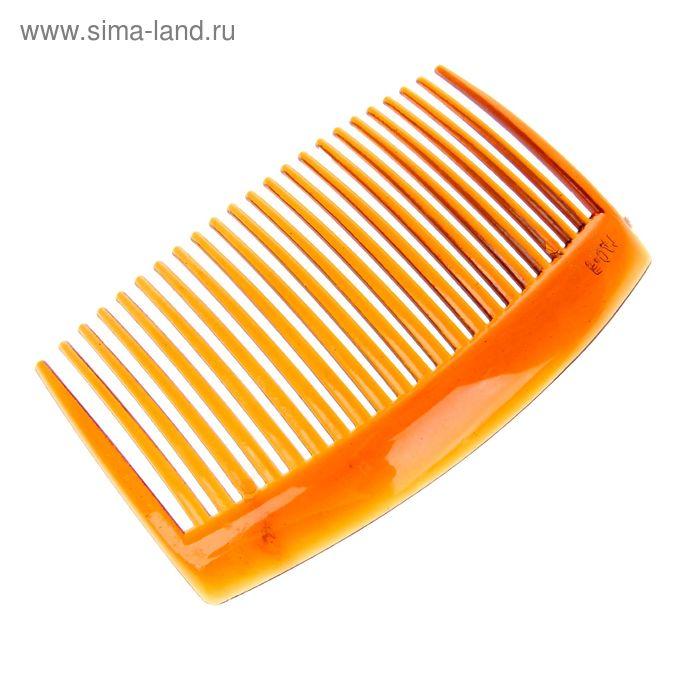 Гребень для волос классика коричневый 8,5 см