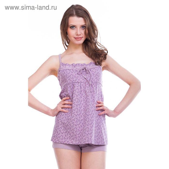 Пижама женская Вдохновение MK241802/02 сиреневый, р-р 48 (96) рост 158-164 см