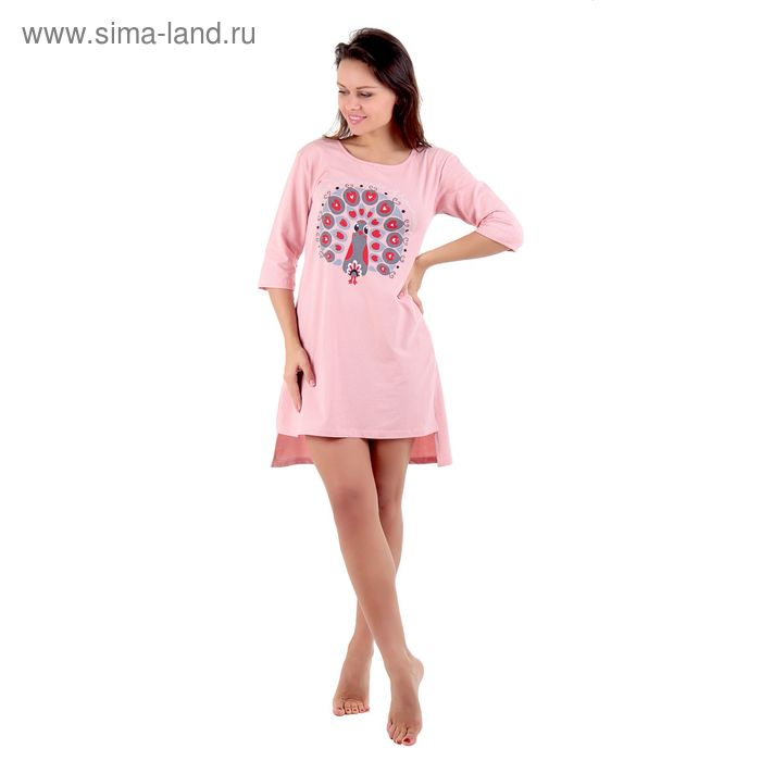 Туника женская Фрея ML242415/01 персиковый, р-р 50 (100)
