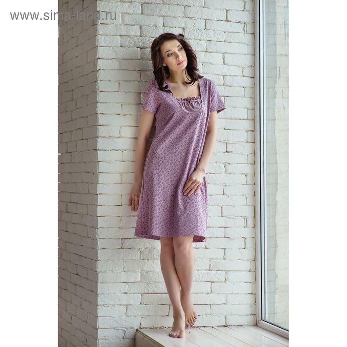 Сорочка женская Вдохновение MK241613/01 сиреневый, р-р 44 (88) рост 158-164 см