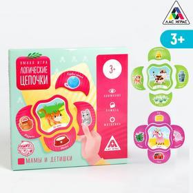 Развивающая игра «Логические цепочки. Мамы и детишки», 3+