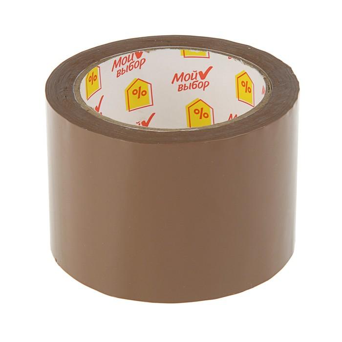 Клейкая лента-коричневая 72 мм * 66 метров * 50 мкм