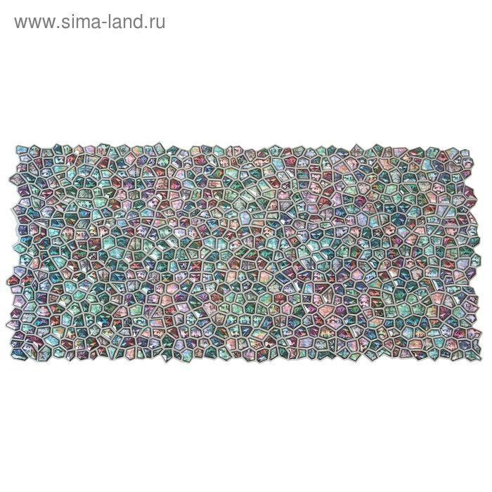 Панель ПВХ Кристалл розовое сияние 955*488
