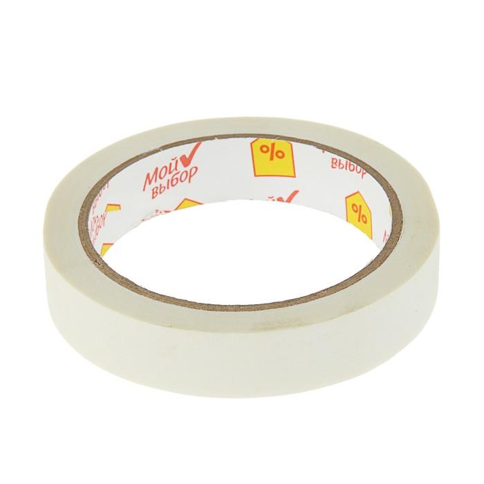Клейкая лента малярная 19 мм * 25 метр * 60 °C, клей на водной основе