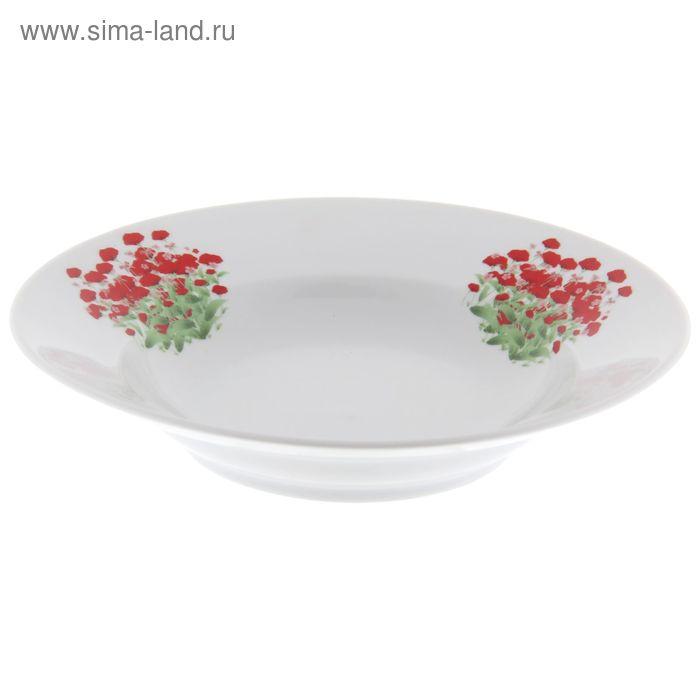 "Тарелка 200 мм глубокая ""Альпийский луг"""