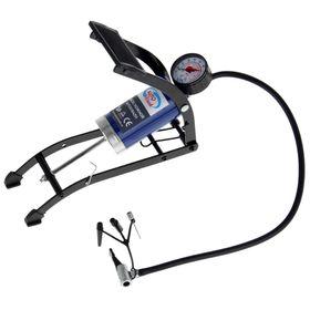 Autovirazh AV-030892 foot pump with pressure gauge.