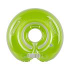 Круг на шею для купания, с погремушками, от 0 мес., цвет зелёный - фото 105455890