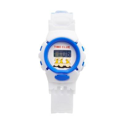 Часы наручные электронные «Прекрасная жизнь», детские, с силиконовым ремешком l=22 см, циферблат микс