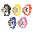 Часы наручные электронные «Гамма», детские, с силиконовым ремешком, циферблат микс