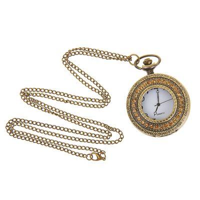 Карманные кварцевые часы «Блеск», на цепочке 80 см