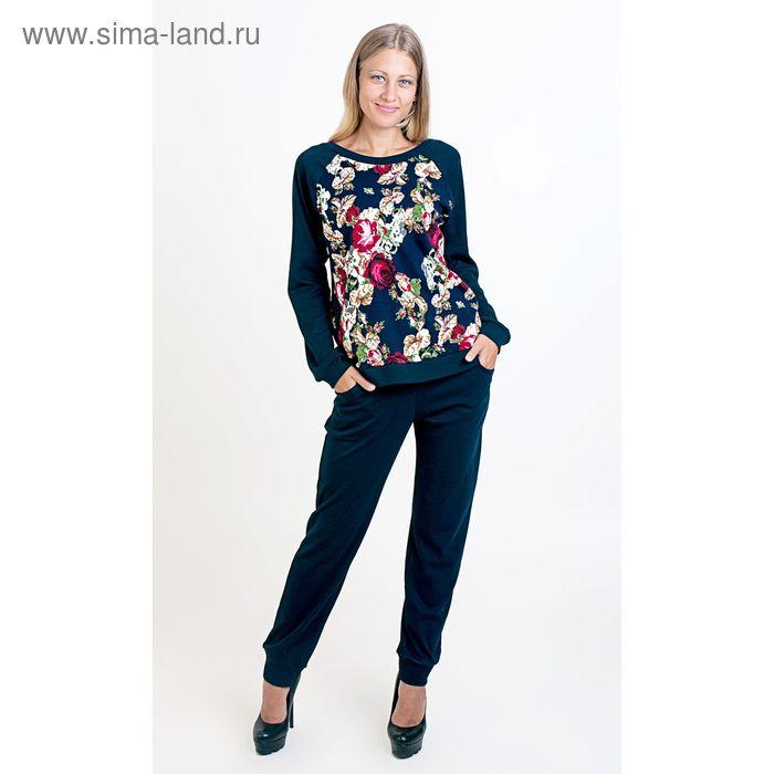 Комплект женский (фуфайка, брюки) ТК-885, цвет микс, размер 48, интерлок