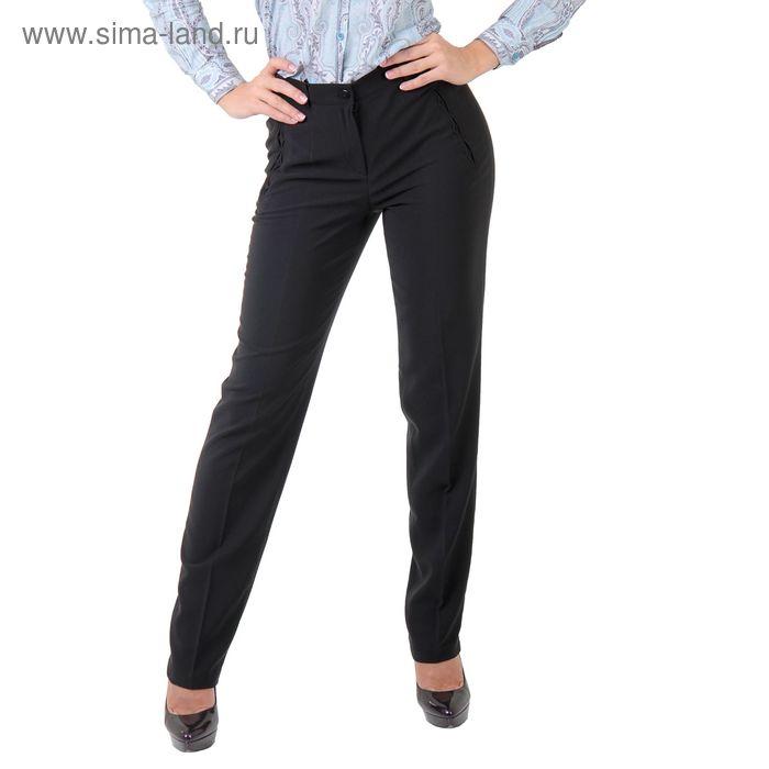 Брюки женские 5150659, размер 48, рост 170 см, цвет черный