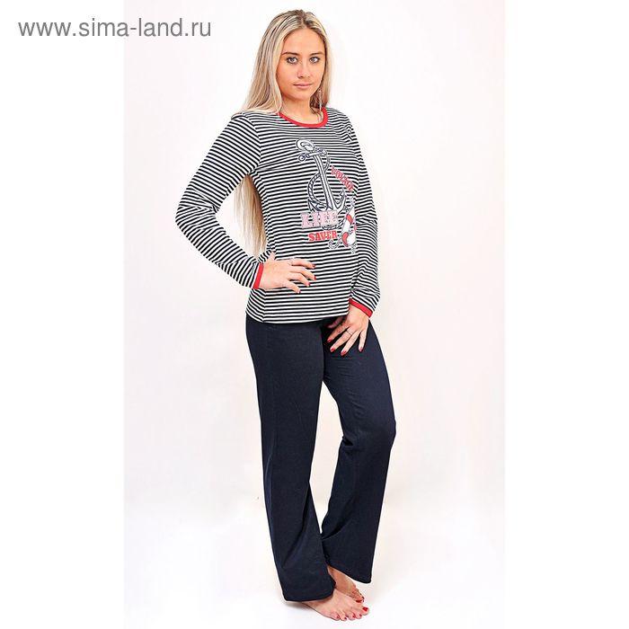 Комплект женский (фуфайка, брюки) ТК-592, цвет микс, размер 54, кулирка