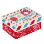 "Коробка подарочная  из фетра 13х16,5 см ""Посылка"","