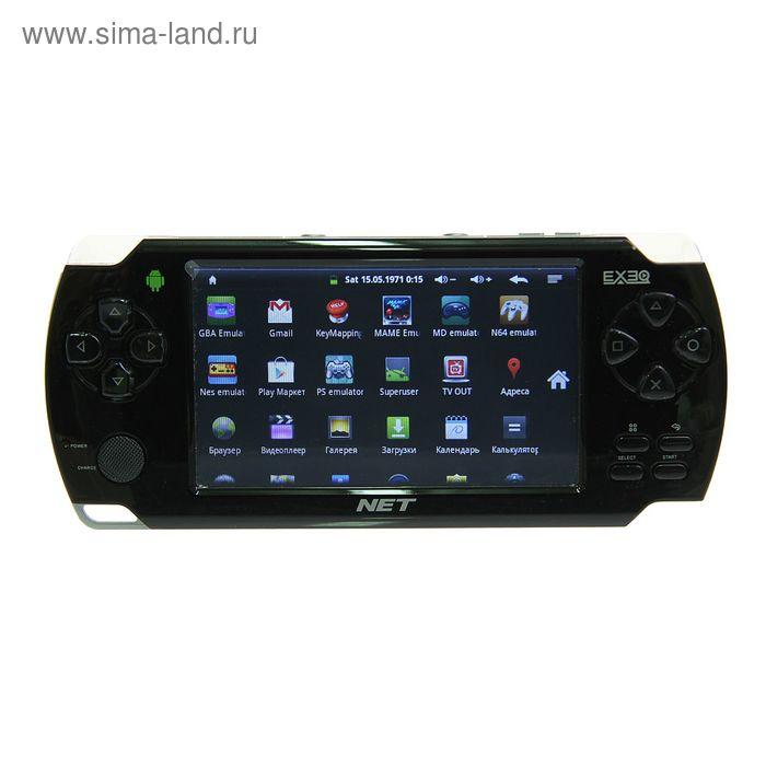 """Игровая приставка EXEQ NET, 4.3"""", Android 4.0, Wi-Fi, 1.3 Мп, подключение к ТВ"""