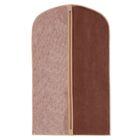 """Чехол для одежды 130×60 см """"Классик"""", большой, цвет коричневый"""