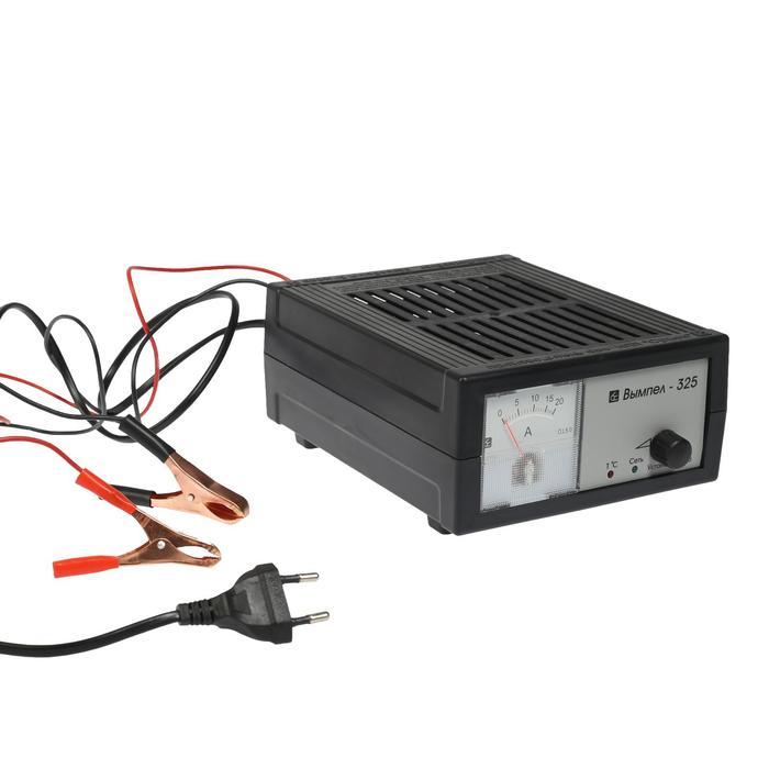 """Зарядное устройство АКБ """"Орион-325"""", 0.8-18 А, 12 В, стрелочный индикатор"""