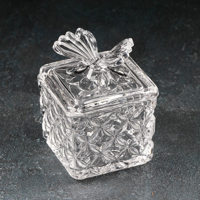 """Сахарница 170 мл """"Бабочка"""", 8х10,5 см"""