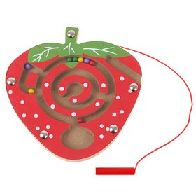 Лабиринт магнитный малый «Клубника»