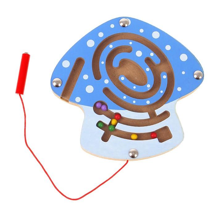 Лабиринт магнитный малый «Грибочек»