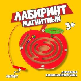 "A maze of small magnetic ""Bullseye"""