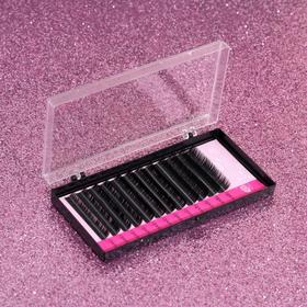 A set of lashes for increasing, 8, 10, 12 mm, thickness 0.15 mm, bending D