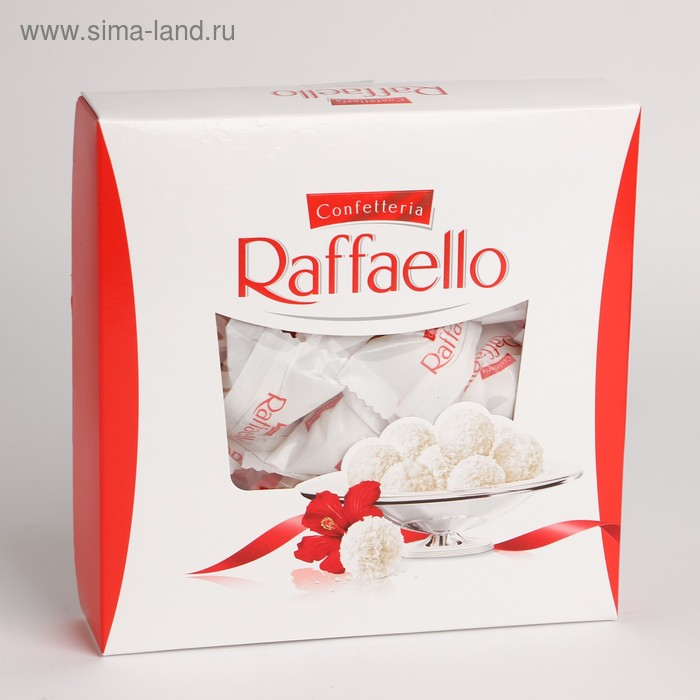 Конфеты Raffaello, плоская коробка, 240 г