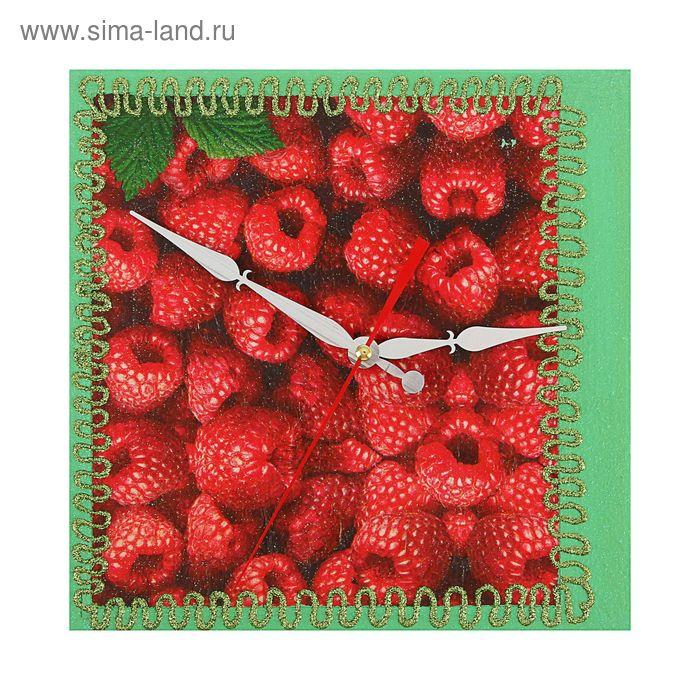 """Часы настенные квадрат """"Декор"""" 25х25 см 106-1"""