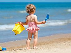 Чем развлечь ребёнка на пляже